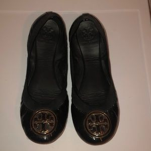 Tory Burch Black Ballet Flats - 8.5